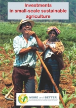 Investments in small-scale sustainable agriculture